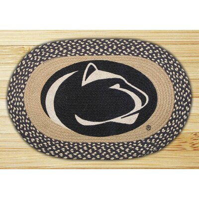 Earth Rugs Penn State Border Novelty Rug