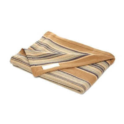 Dash and Albert Rugs Heron Stripe Woven Cotton Throw