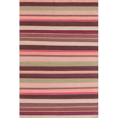 Dash and Albert Rugs Razz Stripe Wool Woven Rug