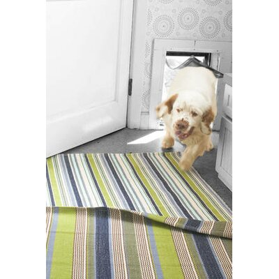 Dash and Albert Rugs Woven Pond Stripe Rug