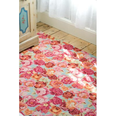 Dash and Albert Rugs Hooked Bed of Roses Rug