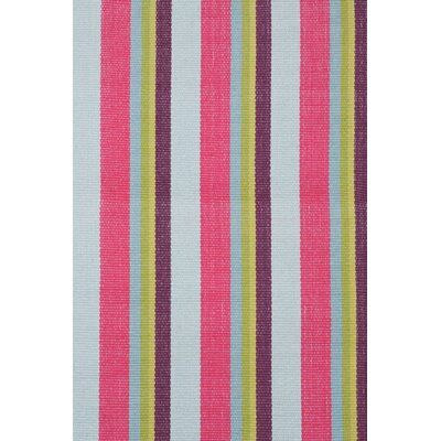 Dash and Albert Rugs Woven Clover Stripe Rug
