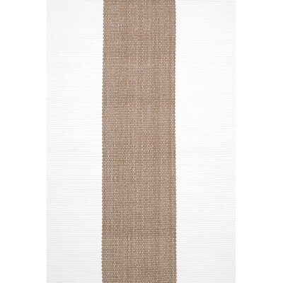 Dash and Albert Rugs Woven Lakehouse Khaki/White Rug