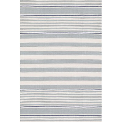 Dash and Albert Rugs Indoor/Outdoor Beckham Blue Striped Rug