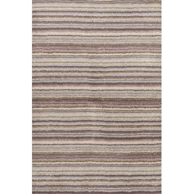 Dash and Albert Rugs Tufted Wool Brindle Striped Rug