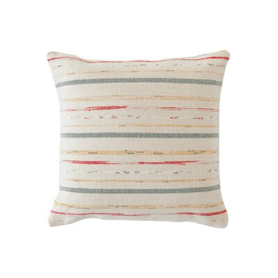 Dash and Albert Rugs Fine Rag Cotton Pillow