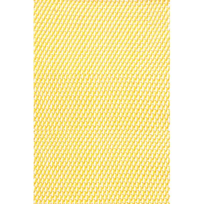 Dash and Albert Rugs Two Tone Rope Daffodiil/White Rug
