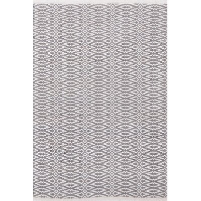 Dash and Albert Rugs Fair Isle Grey/Platinum Geometric Rug