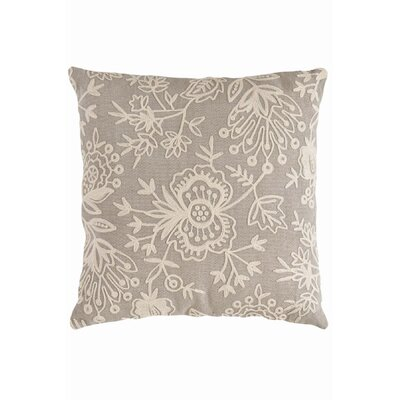 Dash and Albert Rugs Fresh American Floral Crewel Polypropylene Pillow