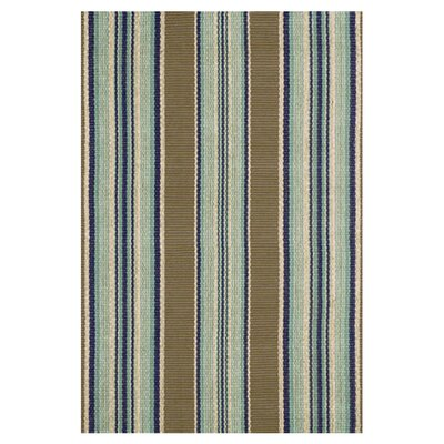 Dash and Albert Rugs Woven Heron Stripe Rug