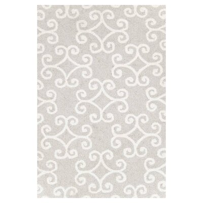 Dash and Albert Rugs Hooked Scroll Rug