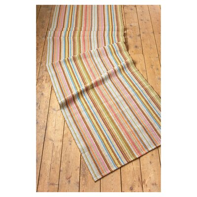 Dash and Albert Rugs Woven Zanzibar Ticking Rug