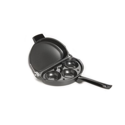 Fox Run Craftsmen Non-Stick Egg Poacher and Omelette Pan