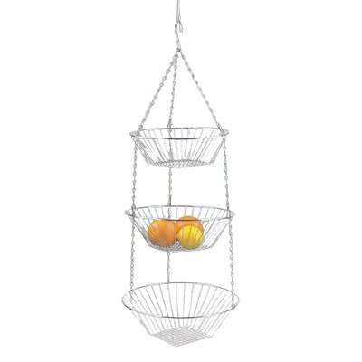 Fox Run Craftsmen 3-Piece Hanging Basket Set