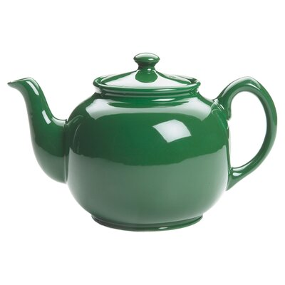 <strong>Fox Run Craftsmen</strong> Peter Sadler Teapot in Green