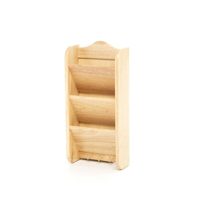 Fox Run Craftsmen Wooden Letter Rack
