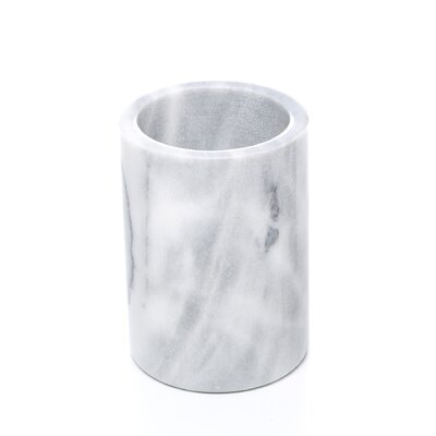 Fox Run Craftsmen Marble Utensil Holder in White