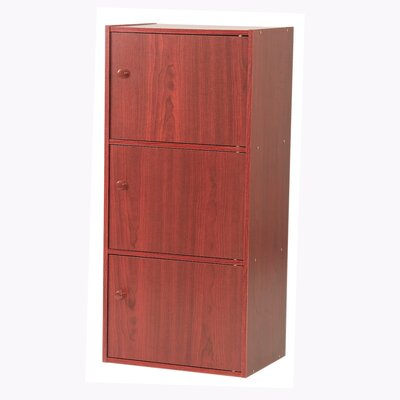 Hazelwood Home Three Door Utility Cabinet