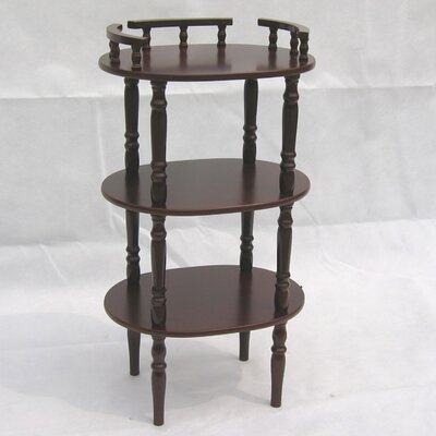 Hazelwood Home Multi-Tiered Telephone Table