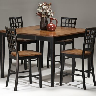 Imagio Home by Intercon Arlington 5 Piece Counter Height Dining Set