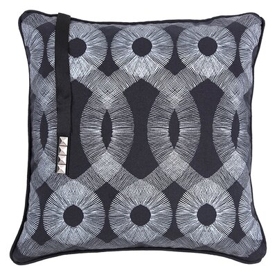 Kreme Screen Print Spiro Pillow
