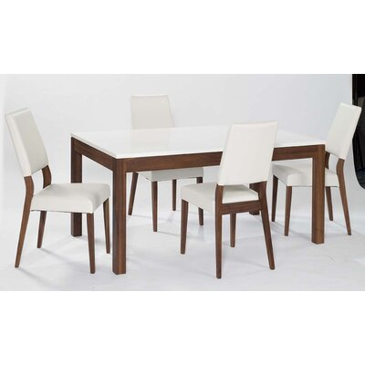 Strata Extendable Dining Table And 4 Chairs Wayfair Uk