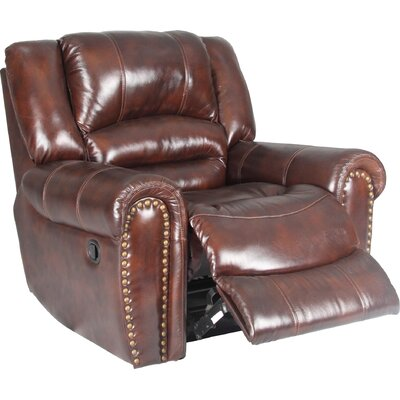 Parker Living Motion Neptune Leather  Chaise Recliner