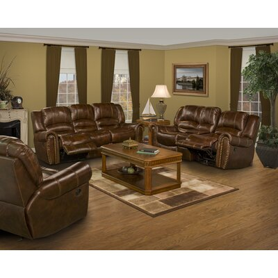 Parker Living Motion Neptune Leather Loveseat