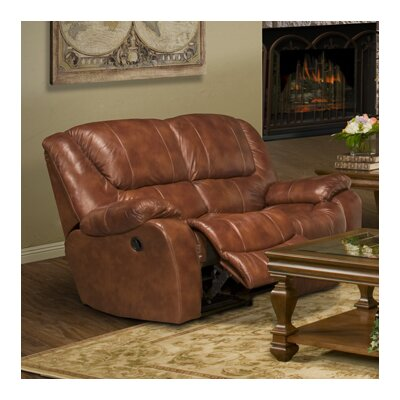 Motion Hercules Leather Reclining Loveseat
