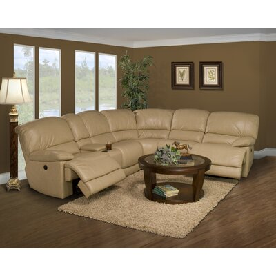 Parker Living Motion Mars Leather Reclining Sectional