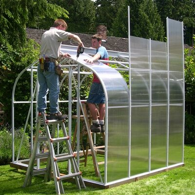 Cross Country Greenhouses Cross Country Pacific Series Polycarbonate Greenhouse
