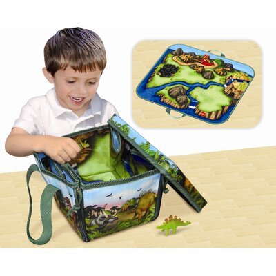 ZipBin Mini Dinosaur Play Set