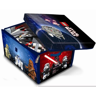ZipBin Lego Star Wars Toy Box & Playmat