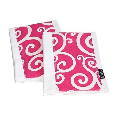 Reese Li Think Pink Burp Cloth Set