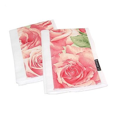 Reese Li Eden of Roses Burp Cloth Set