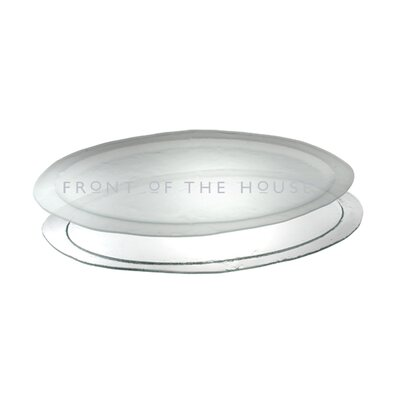 "Front Of The House Arctic 24"" Oval Platter"