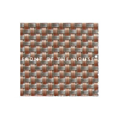 "Front Of The House Metroweave 11"" X 14"" Basketweave Placemat in Canyon (Set of 6)"