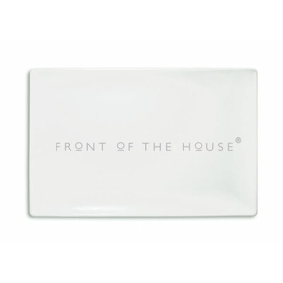 "Front Of The House Mod 16.5"" Rectangular Platter"
