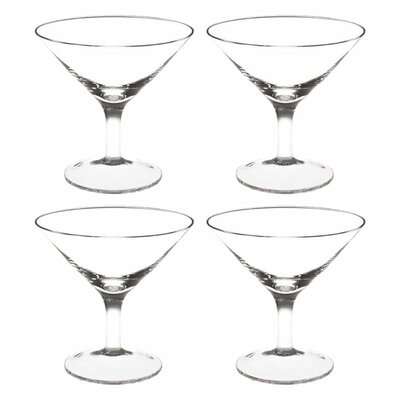Front Of The House Sampler Martini or Gelato Glass (Set of 4)