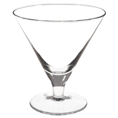 Front Of The House Sampler Tall Martini or Gelato Glass (Set of 4)