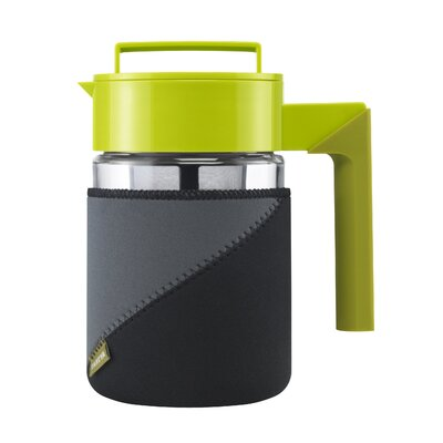 Takeya 24 Oz Tea Maker with Jacket and Handle in Olive