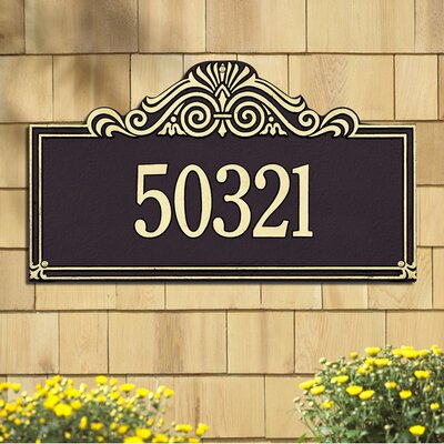 Whitehall Products Villa Nova Estate Wall Plaque
