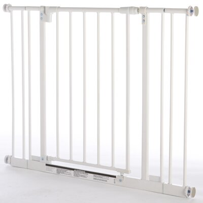 North States Easy Close Metal Pet Gate