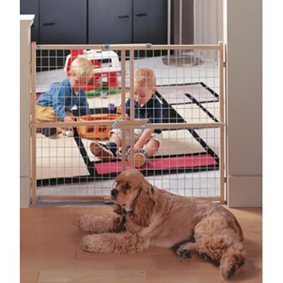 North States Easy Adjust Wire Mesh Gate