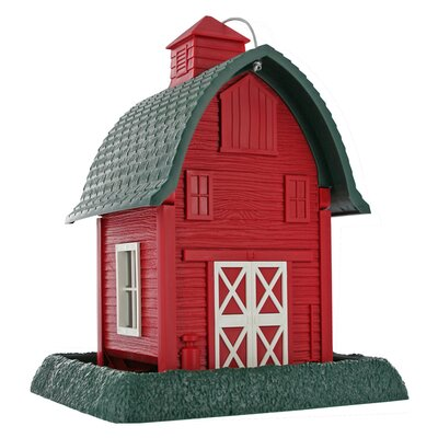 North States 8 Lb Capacity Barn Village Collection Bird Feeder