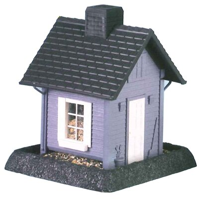 North States Blue Cottage Birdfeeder