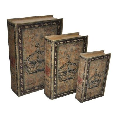 Cheungs Crown Book Box (Set of 3)