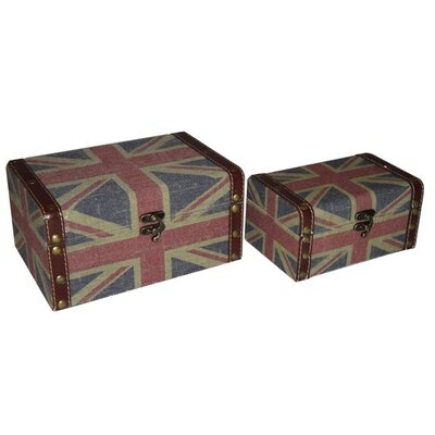 Cheungs Union Jack Keepsake Box (Set of 2)