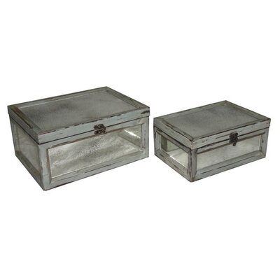Cheungs Rectangular Dirty Mirror Keepsake Box