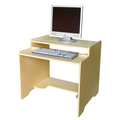 "A+ Child Supply Kids 27"" Computer Desk & Reviews  Wayfair. Cabin Coffee Table. Exercise At Your Desk Equipment. Table Saw Prices. Colored Desks. Tv Stand And Desk. Desk Mount Monitor Stand. Large Computer Desk. Farmhouse Dining Table With Bench"